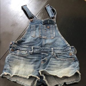 Abercrombie and Fitch Short Overralls